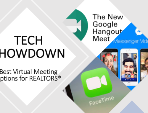 Virtual Meeting Tech Showdown: Zoom vs Google Hangouts or Meet vs FaceTime vs Facebook Video Chat (for REALTORS)